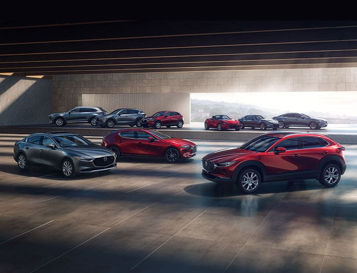 Mazda Family of Vehicles